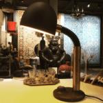 Midcentury Tischlampe von Egon Hillebrand