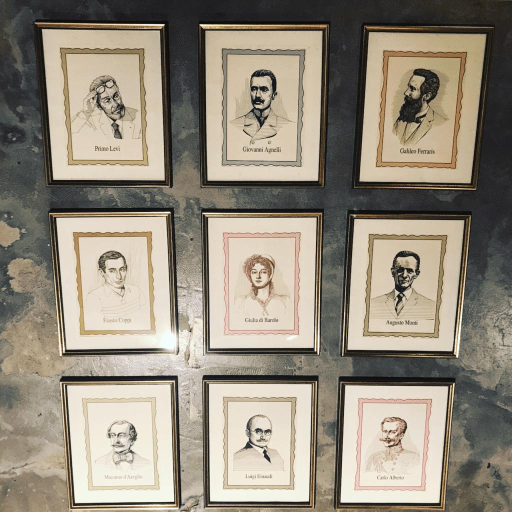 Bilder von italienischen Persönlichkeiten