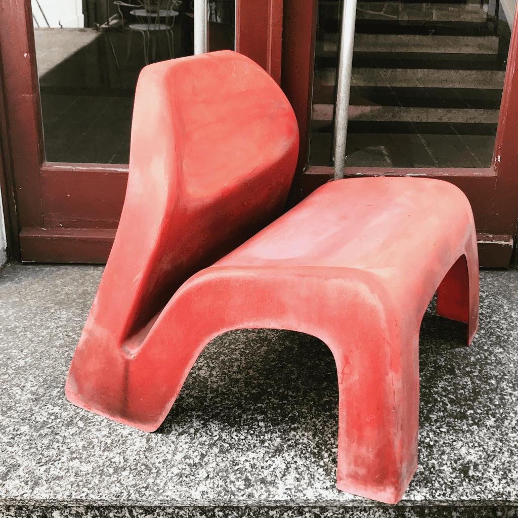 Gardenparty Lounge Chair von Luigi Colani für Essmann