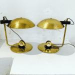 italienische art deco Tischlampe