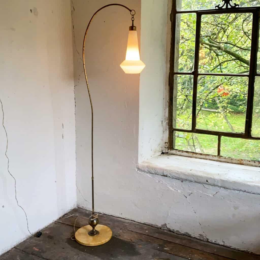 Italienische Stehlampe aus den 40er Jahren